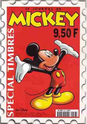 JOURNAL DE MICKEY (LE) - 2437 - Spécial timbres - Grand format