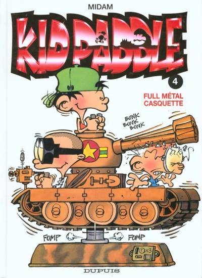 KID PADDLE - Full métal casquette  - Tome 4 (c) - Grand format