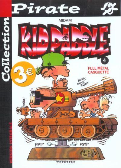KID PADDLE - Full métal casquette  - Tome 4 (pir) - Grand format