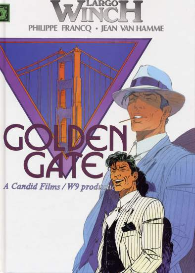 LARGO WINCH (FRANCE LOISIRS) - Golden Gate / Shadow  - Tome 6 - Grand format
