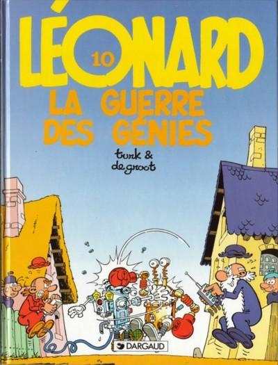 LÉONARD - La guerre des génies  - Tome 10 (a) - Grand format