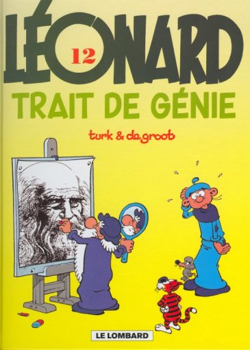 LÉONARD - Trait de génie  - Tome 12 (b) - Grand format