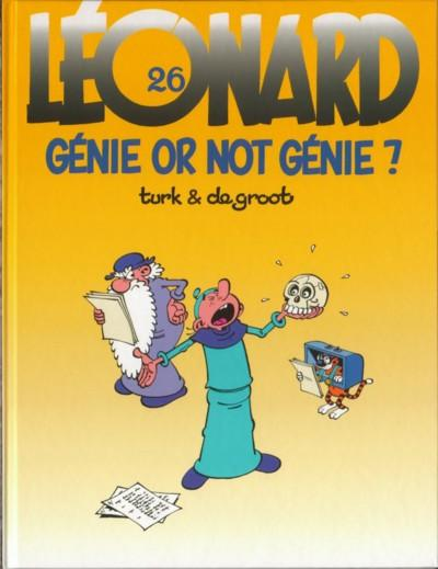 LÉONARD - Génie or not génie ?  - Tome 26 - Grand format