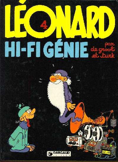 LÉONARD - Hi-Fi Génie  - Tome 4 - Grand format