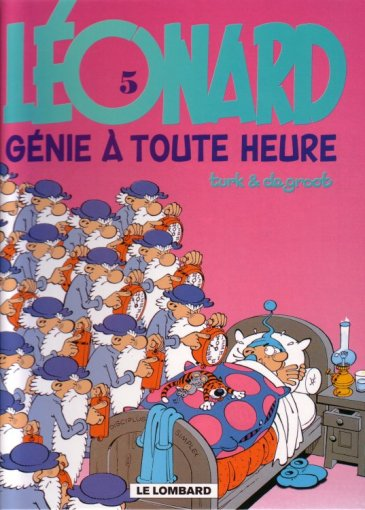 LÉONARD - Génie à toute heure  - Tome 5 (b) - Grand format
