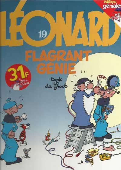 LÉONARD - Flagrant génie  - Tome 19 (b) - Grand format