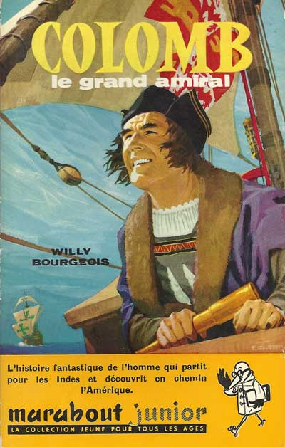Collection Marabout Junior  -  Colomb le grand amiral  - Tome 145