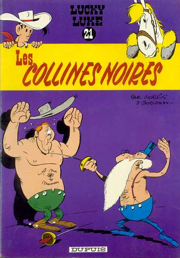 LUCKY LUKE - Les collines noires  - Tome 21 (c) - Grand format