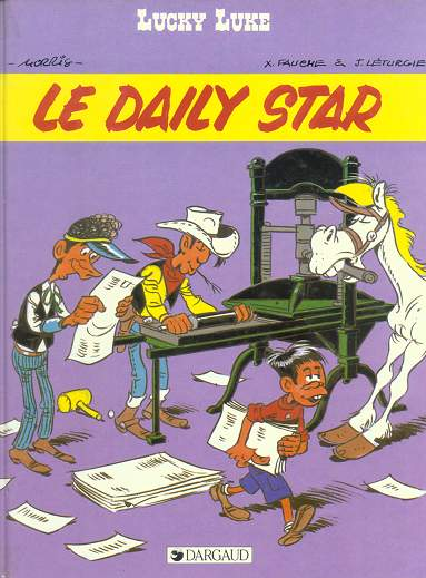 LUCKY LUKE - Le Daily Star  - Tome 53 - Grand format