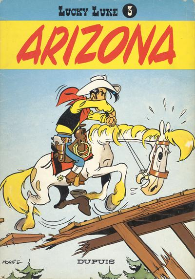 Lucky Luke  -  Arizona  - Tome 3 (a)