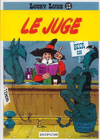 LUCKY LUKE - Le juge  - Tome 13 (c) - Grand format