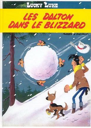 LUCKY LUKE - Les Dalton dans le blizzard  - Tome 22 (FL) - Grand format