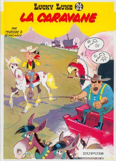 LUCKY LUKE - La caravane  - Tome 24 (c) - Grand format