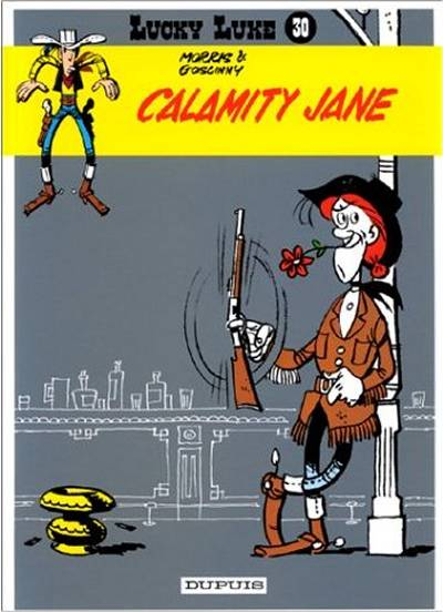 LUCKY LUKE - Calamity Jane  - Tome 30 (d) - Grand format
