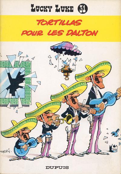 LUCKY LUKE - Tortillas pour les Dalton  - Tome 31 (f) - Grand format