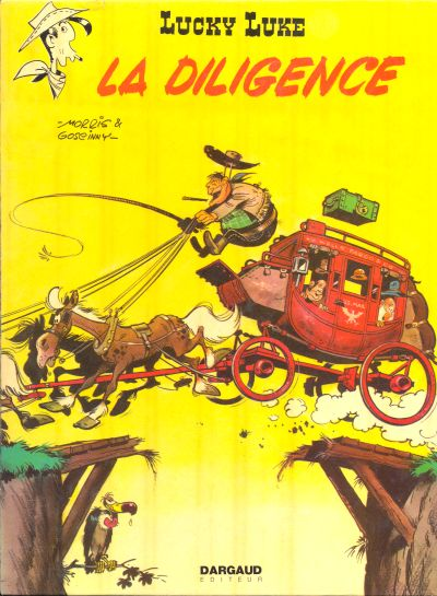 LUCKY LUKE - La diligence  - Tome 32 (c) - Big format