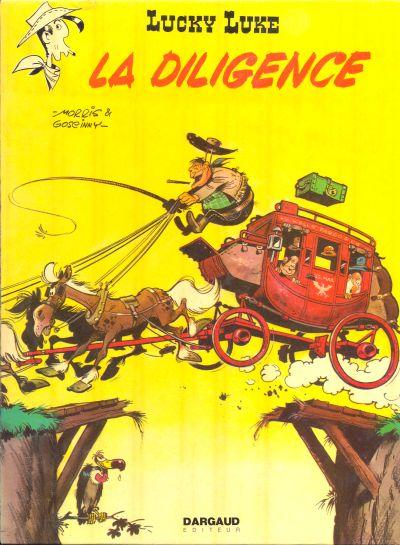 LUCKY LUKE - La diligence  - Tome 32 (c) - Grand format