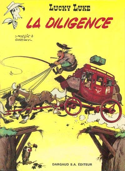 LUCKY LUKE - La diligence  - Tome 32 (b) - Grand format