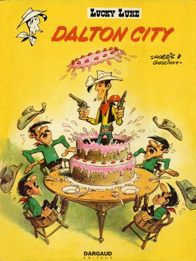 Lucky Luke  -  Dalton city  - Tome 34 (c)