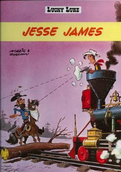 LUCKY LUKE - Jesse James  - Tome 35 (FL) - Grand format