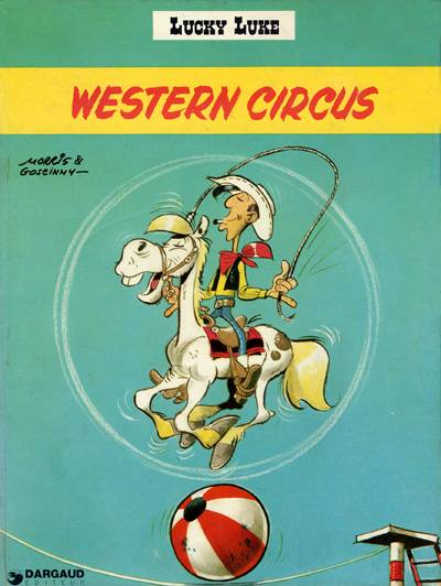 LUCKY LUKE - Western Circus  - Tome 36 (d) - Grand format