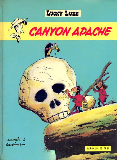 LUCKY LUKE - Canyon Apache  - Tome 37 (b) - Grand format