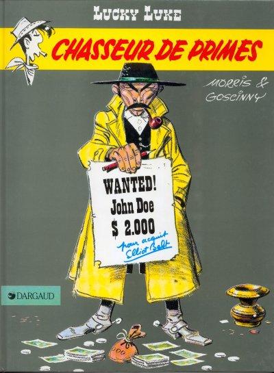 LUCKY LUKE - Chasseur de primes  - Tome 39 (c) - Grand format