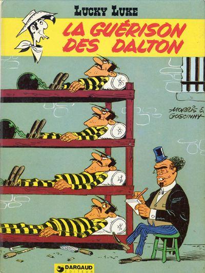 LUCKY LUKE - La guérison des Dalton  - Tome 44 - Grand format