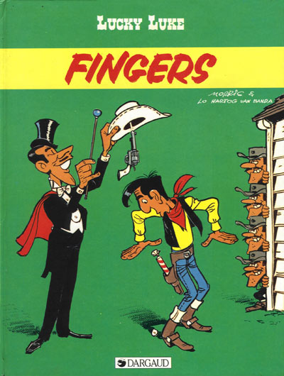 LUCKY LUKE - Fingers  - Tome 52 - Grand format
