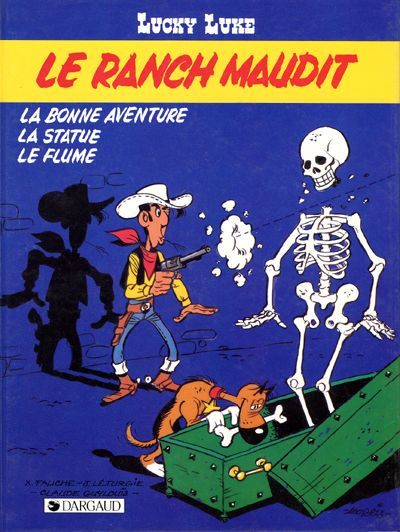 LUCKY LUKE - Le ranch maudit  - Tome 56 (b) - Grand format
