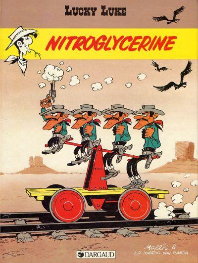 LUCKY LUKE - Nitroglycérine  - Tome 57 - Grand format