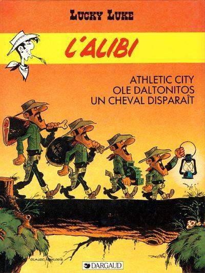 LUCKY LUKE - L'alibi  - Tome 58 - Grand format