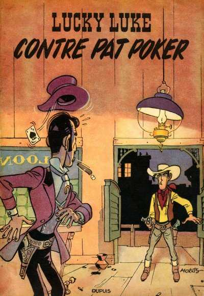 LUCKY LUKE - Lucky Luke contre Pat Poker  - Tome 5 (a) - Grand format