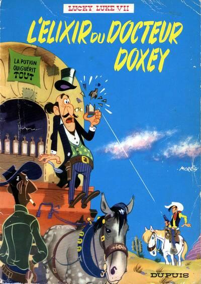 lucky luke l'élixir du docteur doxey  - tome 7 (a)