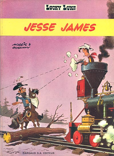 LUCKY LUKE - Jesse James  - Tome 35 (c) - Grand format