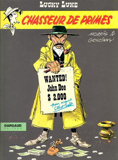 LUCKY LUKE - Chasseur de primes  - Tome 39 - Big format