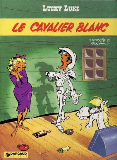 LUCKY LUKE - Le cavalier blanc  - Tome 43 (c) - Big format