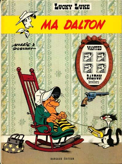 LUCKY LUKE - Ma Dalton  - Tome 38 (d) - Grand format
