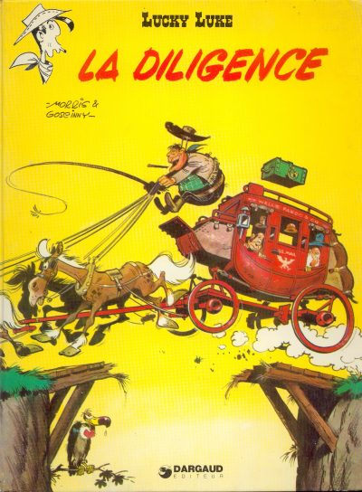 LUCKY LUKE - La diligence  - Tome 32 (d) - Grand format