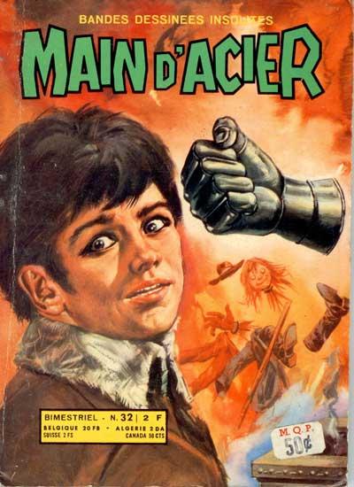 MAIN D'ACIER - L'épouvantail du Lotschberg  - Tome 32 - Moyen format