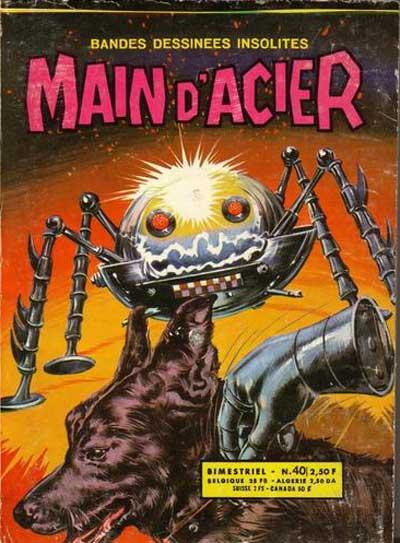 MAIN D'ACIER - Le défi des Lektrons  - Tome 40 - Moyen format