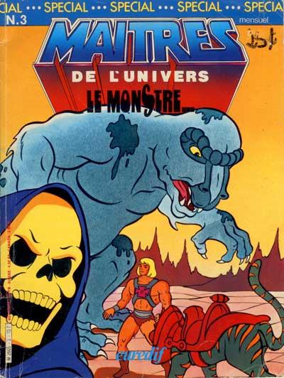 MAÎTRES DE L'UNIVERS - Le monstre  - Tome 3 - Grand format