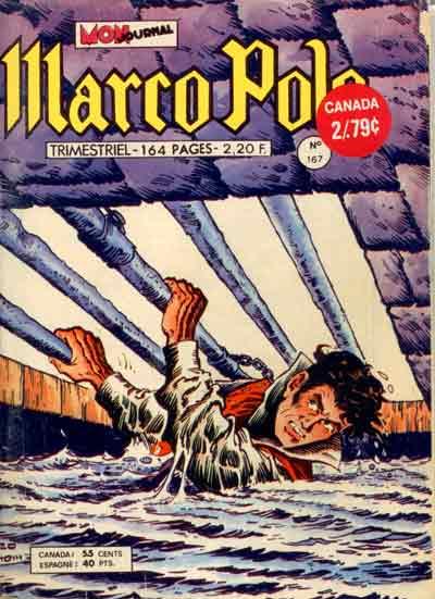 MARCO POLO (MON JOURNAL) - La frontière interdite  - Tome 167 - Moyen format