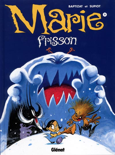MARIE FRISSON - Tombe la neige...  - Tome 2 (a) - Grand format
