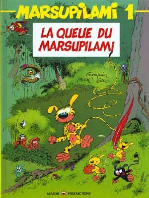 MARSUPILAMI - La queue du marsupilami  - Tome 1 (a) - Grand format