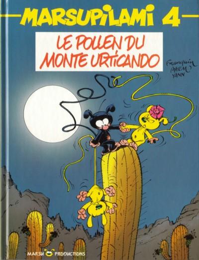 MARSUPILAMI - Le pollen du Monte Urticando  - Tome 4 - Grand format