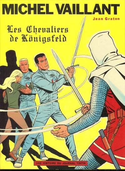 MICHEL VAILLANT - Les Chevaliers de Königsfeld  - Tome 12 (a) - Grand format