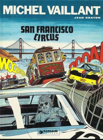 MICHEL VAILLANT - San Francisco Circus  - Tome 29 - Grand format