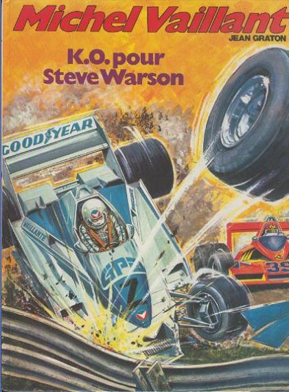MICHEL VAILLANT - K.O. pour Steve Warson  - Tome 34 (') - Grand format