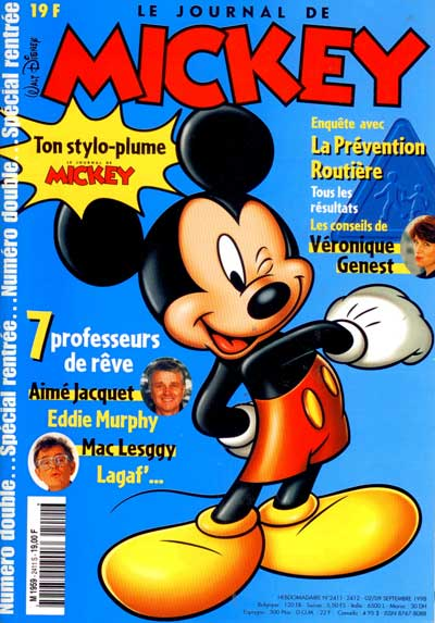 JOURNAL DE MICKEY (LE) - 2411-2412 - Numéro double spécial rentrée - Grand format